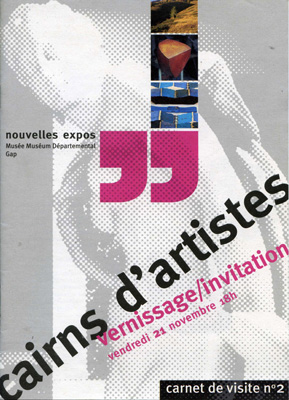 Exposotion - Cairns d'artistes